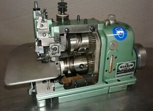 Merrow Mg 4d 67 Mechanical 2 Needle Commercial Industrial Sewing Machine