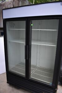 True Gdm 49 Glass 2 Door Merchandiser Refrigerator