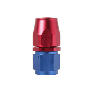 8an An8 Swivel Hose End To Female Fitting Oil Gas Fuel Line Straight Red Blue