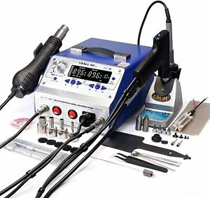 Yihua 948 ii 4 In 1 Hot Air Rework Soldering Iron And Desoldering Suction Tin