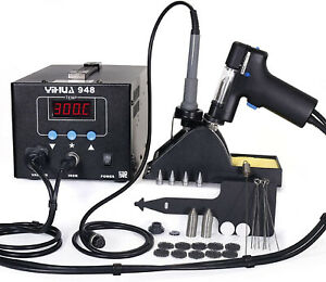 Yihua 948 Esd Safe 2 In 1 80w Desoldering Station And 60w Soldering Iron Gun