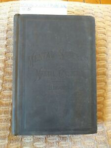 Mental Science And Culture Rare Antique Medical Book C1885 Edward Brooks