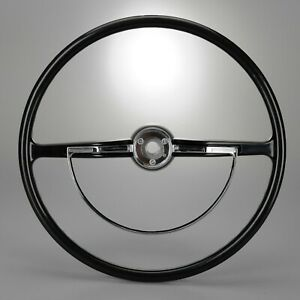 1960 1971 Vw Black Steering Wheel And Horn Ring Complete Ready To Install Kit