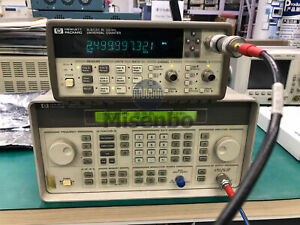 Hp Agilent 53131a 3ghz Universal Counter Opt 010 030 Used Tested