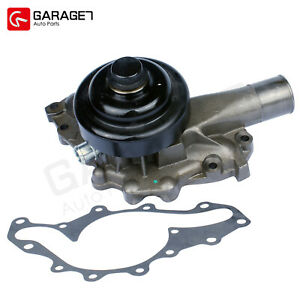 Engine Water Pump Fit 99 01 Chevy Gmc C k p w h Series Am General Hummer V8 6 5l