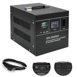 Voltage Stabilizer Automatic Experiment Lab Ac Voltage Regulator Svc 3000va