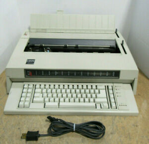 Tested Vintage 1987 Ibm Wheelwriter 6 Electric Typewriter Type 674x No Ribbon