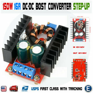 150w Boost Converter Dc dc 10 32v To 12 35v Step Up Power Supply Module Usa