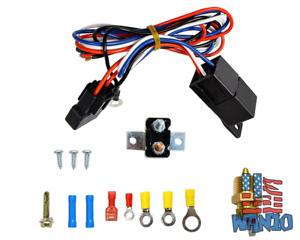 Electric Radiator Engine Fan Thermostat Temperature Switch Relay Kit 3 8 Thread