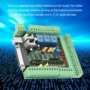 Cnc Engraving Machine Board 4 5 6axis Motion Controller Mach3v3 0 New