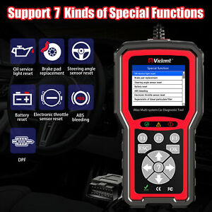 Vident Imax4304 Fit For Gm Cars Full System Car Diagnostic Tool Obd2 Code Reader