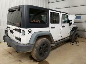 2011 Jeep Wrangler Textured Black Hard Top Roof W Front Freedom Panels Oem