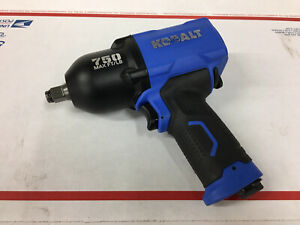 Pneumatic Kobalt Impact Wrench 1 2 in Drive 750 Ft lb
