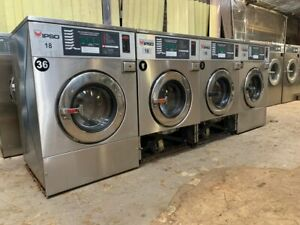 4 Pcs We73c 18lb Ipso Commercial Washing Machine 220v 3ph Used