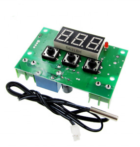 12vdc Temperature Controller Board With 10a Relay