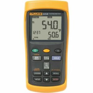 Fluke 54 2 b Dual Input Digital Thermometer With Data Logging