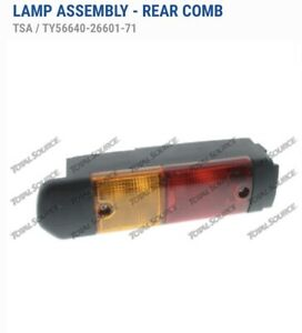 Toyota Forklift Truck 8fgcu25 Rear Combination Lamp Assembly lh Tail Lights