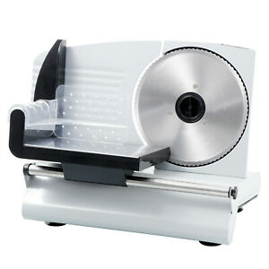 7 5 Blade Commercial Meat Slicer Food Slicer Deli Meat Cheese Cheese Ham Bread
