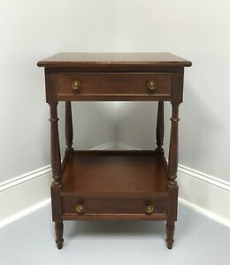 Craftique Solid Mahogany Traditional Nightstand 2