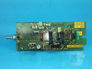 Tektronix 576 Curve Tracer Horizontal Volts Division 670 1027 02 Assy