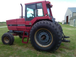 1986 International 5288 Tractor 177 Hp Dt 466b Starts Up In Cold Weather