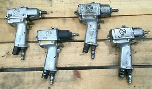Lot Of 4 Assorted Pneumatic Hammer Drill Wrenches Uryu Ux 700