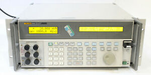 Fluke 5820a Oscilloscope Calibrator With 5 Channel 2 1 Ghz Bandwidth Options