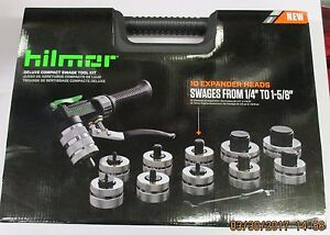Hilmor Deluxe Compact Swage Tool Kit 1964041