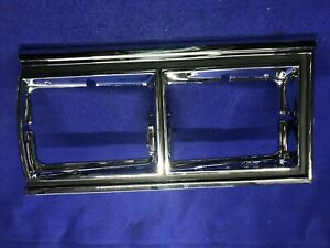 1979 Chevy Caprice Right Headlight Chrome Bezel Brand New Correct Black Lines