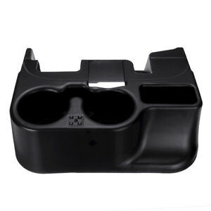 Us Center Console Cup Holder Black Abs For Dodge Ram Add On 1500 2500 3500 03 12
