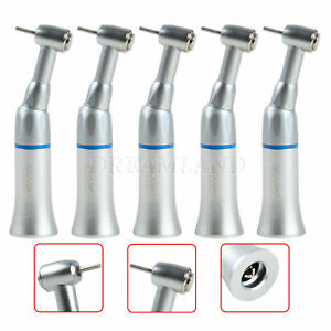 Lot Dental Low Speed Contra Angle Push Chuck Handpiece F High Speed Fg1 6mm Bur