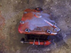 Ford 8n Tractor Original Working Hydraulic Pump Assembly W Cover Panel