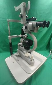 Carl Zeiss Ophthalmic Slit Lamp With Haag Streit Tonometer