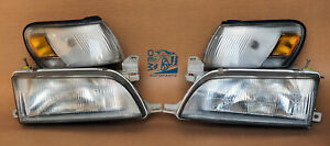 Toyota Corolla Ae100 Ae101 Regular Jdm Style Headlight With Parking Lights Oem
