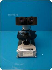Olympus Bh 2 Laboratory Microscope W Cover Glasses 241053
