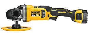 Dewalt black And Decker Inc Dcm849p2 20v Max Rotary Polisher Kit