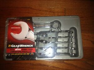 Gear Wrench 10 Pc Metric 12 Pt Non Ratcheting Box End Stubby Wrench Set