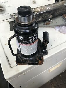 Omega Lift Equipment 18204c 20 Ton Air Hydraulic Bottle Jack