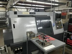 Mazak Super Quick Turn 15 Univ Cnc Lathe 1993 Tooling Included Video Availa