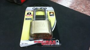 Brink s 50mm Long Shackle Bottom Resettable Dial Padlock Free Shipping