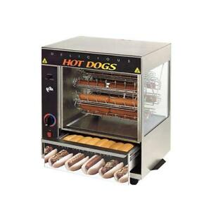Star 175sba Broil o dog 48 Hot Dog Broiler