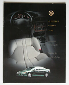 Chrysler Cirrus 1997 Dealer Brochure French Canada St1002000918