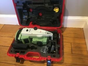 Leica Ts02 Flexline 3 R400 Total Station Excellent Cond Ships Worldwide