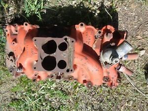 Intake Manifold 3883848 1966 67 68 Chevy Big Block Barn Fresh