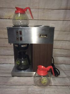Vintage Bunn Pour omatic Vpr Commercial Coffee Machine Used