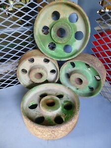 Antique Hit And Miss Engine Heavy Duty Cart Wheels 1 Pair Are 9 Other Pair 8