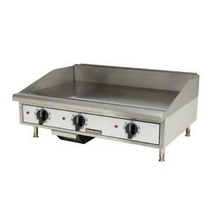 Toastmaster Tmge36 36 In Pro series Countertop Electric Griddle