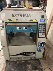 Extrema 24 X 9 Power Planer With 10 Hp Motor And Spiral Carbide Cutter Head