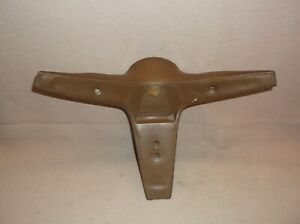 1970 1973 Mercury Cougar Ford Mustang Ginger 3 Spoke Steering Wheel Center Pad