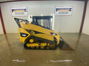 Caterpillar 259b3 Skid Steer Track Loader With Manual Quick Attach